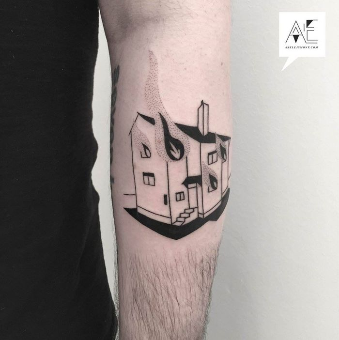 Geometric Abstract Tattoos by Axel Ejsmont