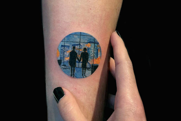 Couple Tattoo By Eva Krbdk