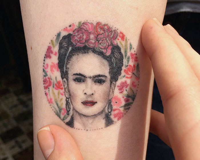 Frida Kahlo Tattoo By Eva Krbdk
